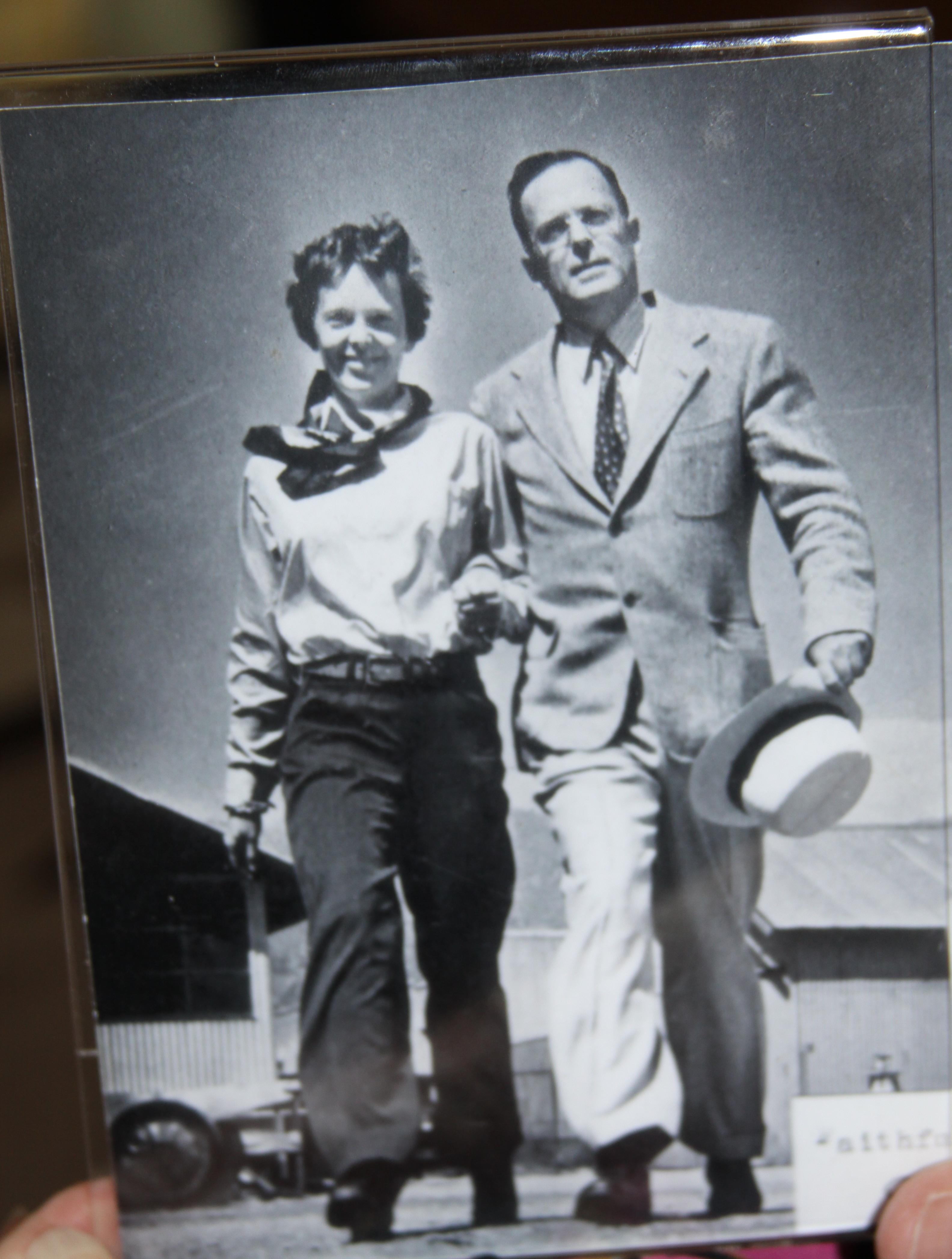 Amelia and Her Husband, George Palmer Putnam Sr.