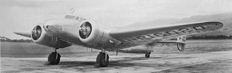 Earhart's Electra 10E