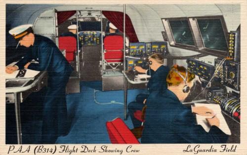 PanAm Clipper Flight Deck