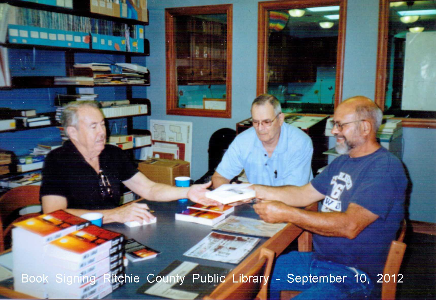 Authors Bob and Fred